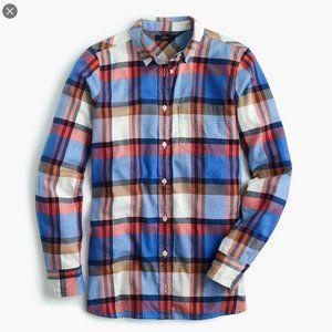 [J.Crew] Classic-fit Boy Shirt Pacey Plaid Shirt